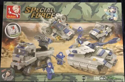 Ideal Para Navidad SLUBAN-Fuerzas especiales 746 un.