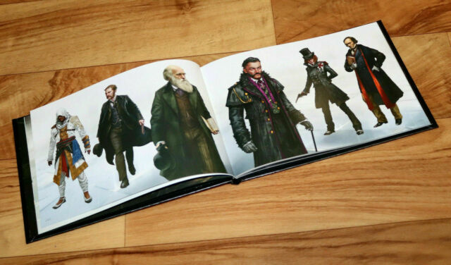 Assassin's Creed Syndicate Artbook The Art of Book PS4 Xbox One