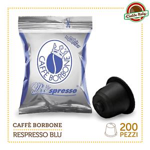 200-Cialde-Capsule-Caffe-Borbone-Respresso-Miscela-Blu-e-compatibile-Nespresso