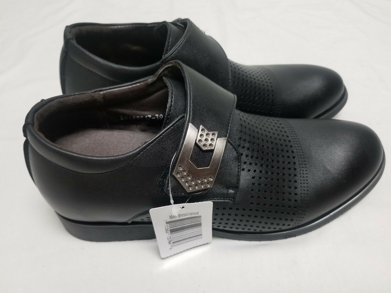 New Men's Dress Casual Formal Black Special Shoes Unbranded for Work Special Black Occasion 348d98