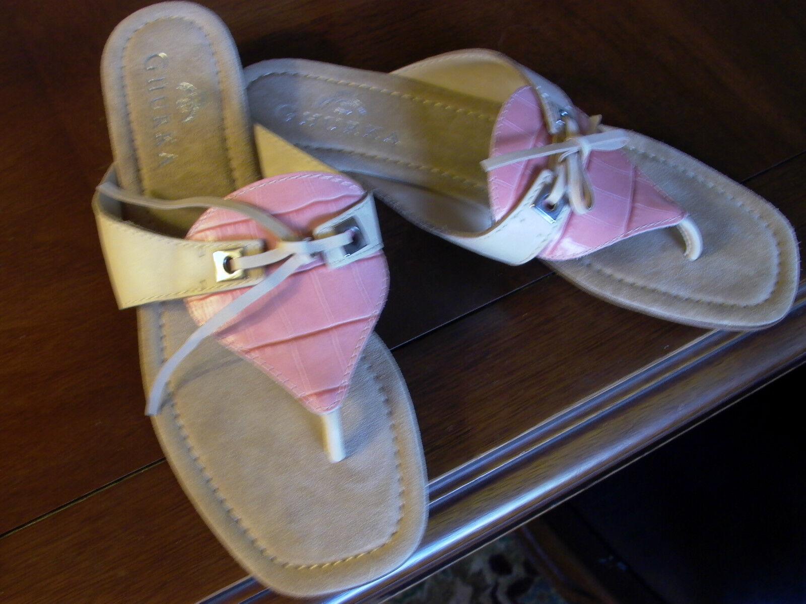 ny Ghurka Sandals Sandals Sandals Sz 7.5 Läckert  fabriksförsäljning