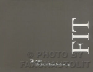 image is loading new-2009-honda-fit -electrical-troubleshooting-manual-original-