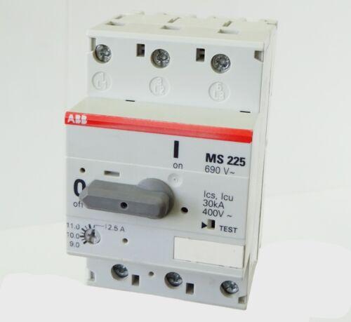 ABB MS225-12,5 Motorschutzschalter 1SAM151000R0011 Manual Motor Starter 9..12,5A