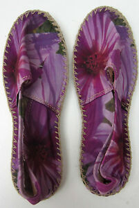 Floral Uk4 Espadrilles Smith Paul Violet Size Eu37 Hobo wU8IIYq