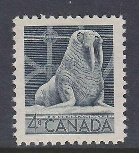 CANADA NO 335, WILDLIFE: WALRUS,   MINT NH