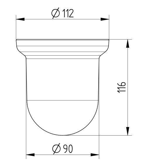 AVENARIUS Ersatzglas für Bürstengarnitur; Ersatzteil     | Der Schatz des Kindes, unser Glück