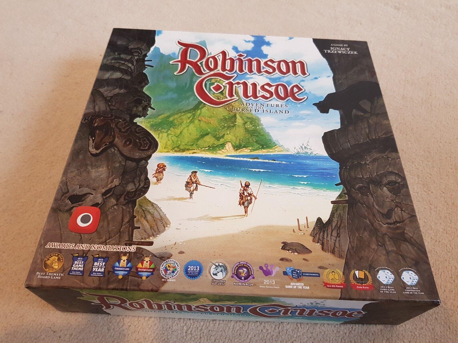 Robinson Crusoe Boardgame con extras