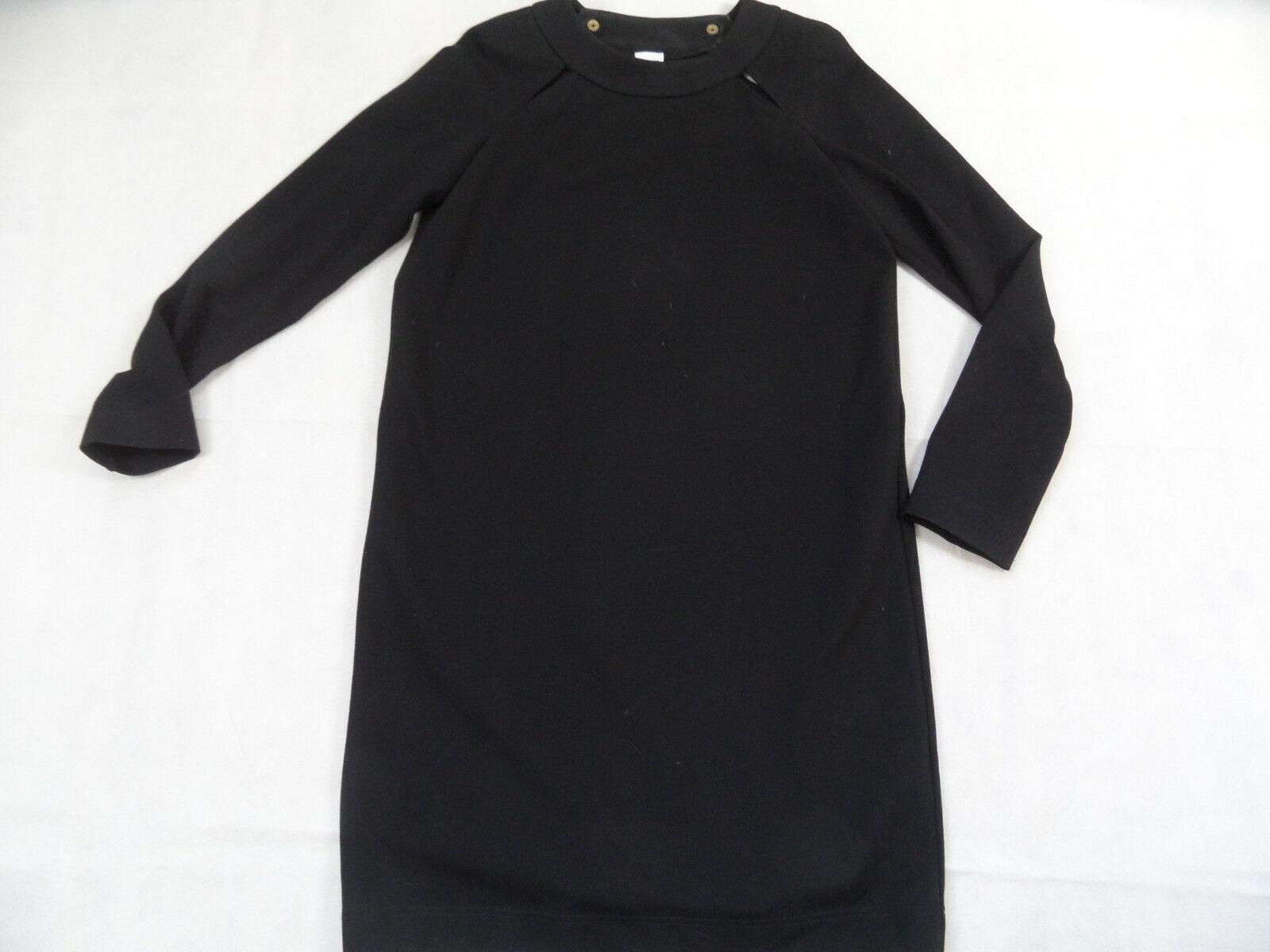 MISSONI schlichtes Jersey-Stretch-Kleid bequemer Schnitt schwarz Gr. 40  JE319   | Die Farbe ist sehr auffällig  | Hochwertige Materialien  | Günstige Bestellung  | Optimaler Preis