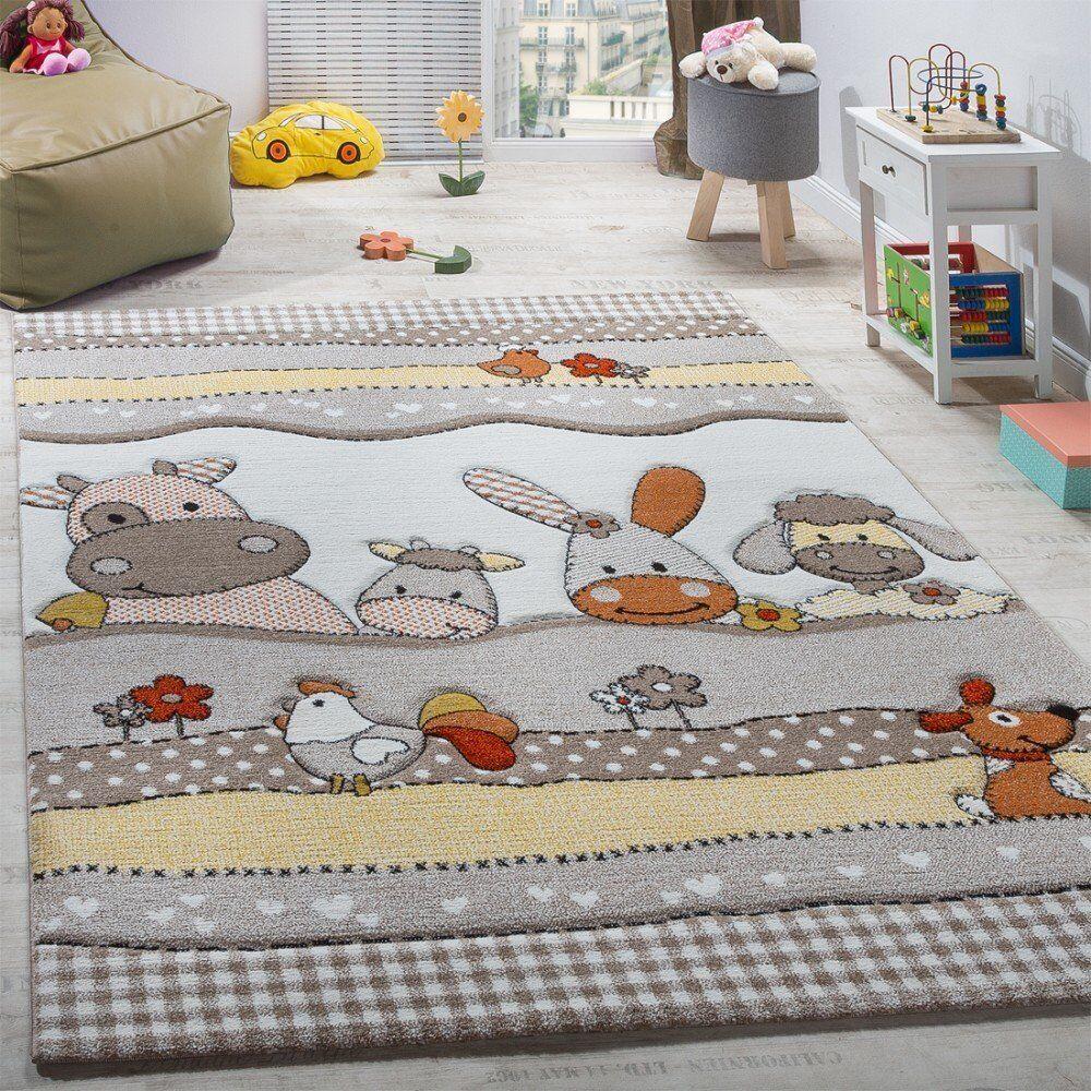 Enfants Tapis Animaux Ferme Design Enfants Chambre à Coucher Jouer tapis moquette grande PETITE TAILLE