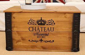 Baule Legno Fai Da Te : Baule tavolino da salotto in legno massello tavolo truhentisch