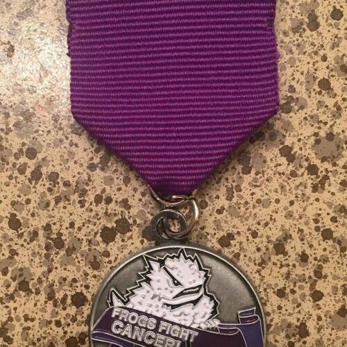 TCU Frogs Fight Cancer Fiesta Medal benefiting Leukemia /& Lymphoma Society