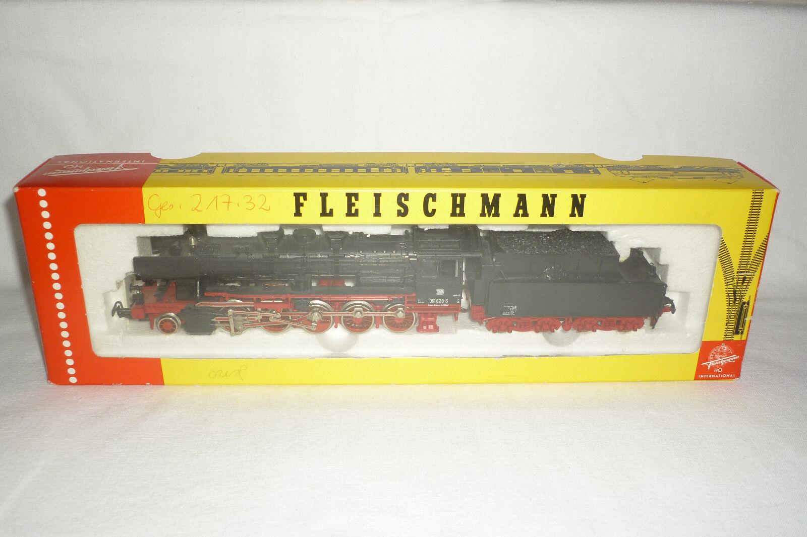 Fleischmann-spur h0-dampftenderlok DB 051 628-6 - artículo 4177-embalaje original (6.ei-18)