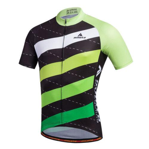 Shorts Kit Coomax Bib Stripes Men/'s Cycling Set Short Sleeve Jersey and Padded