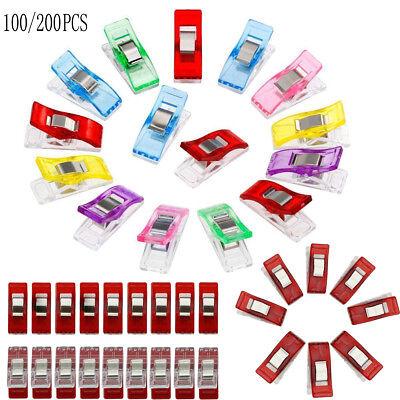 Farbwahl 10-200x Wonder Clips Nähklammern Stoffklammern Nähzubehör Nähclips