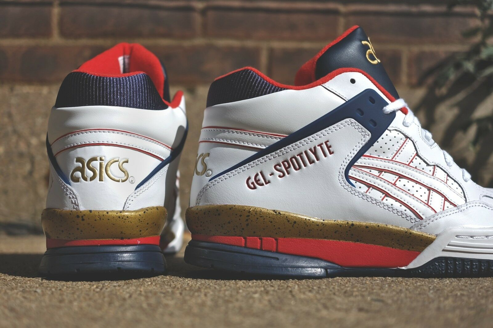 Asics Gel-Spotlyte Isiah Thomas H447L-0101 Dream Team Olympics Basketball USA 13