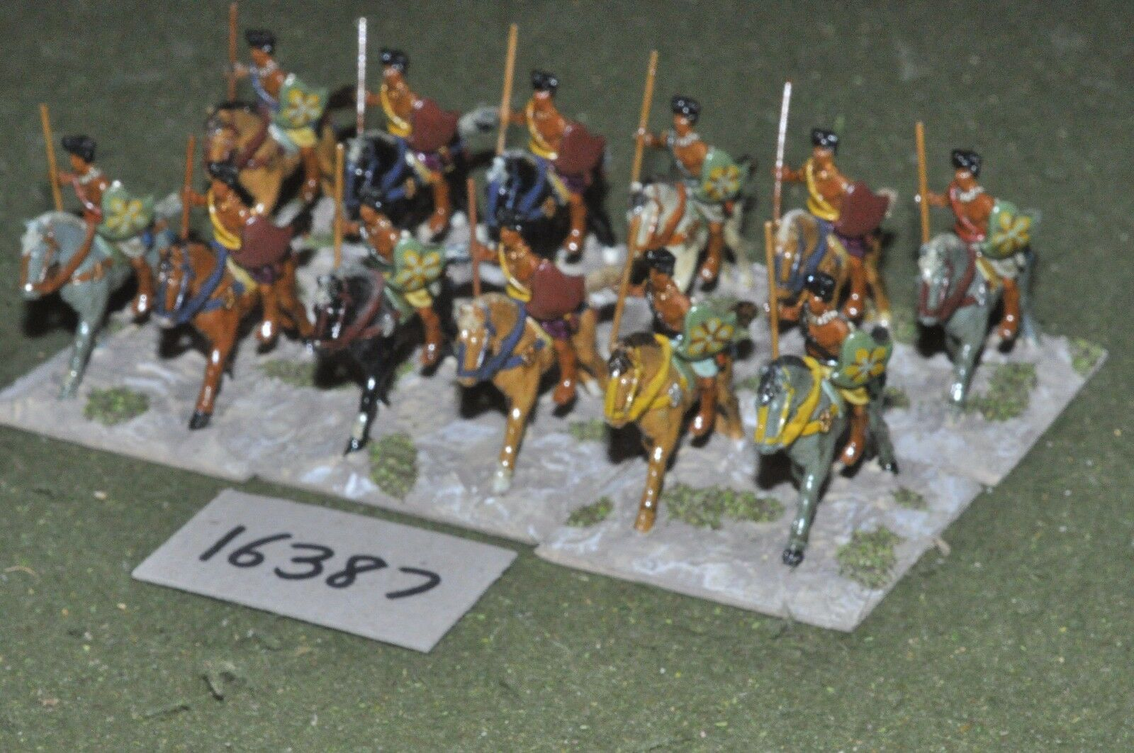 25mm classical   indian - cavalry 12 cavalry - cav (16387)