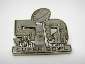 Collectible-Pin-Super-Bowl-50-Beautiful-Design-Nice-Quality