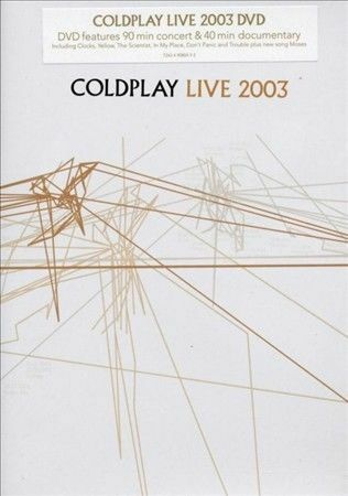 1 of 1 - Live 2003 [DVD] by Coldplay (DVD, Jun-2004, EMI)