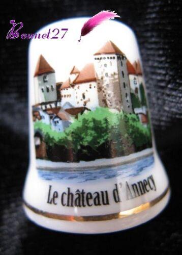Dé à coudre Thimble Monument Paysage LE CHATEAU Ville de ANNECY #34//50