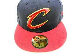 ecc0977698e5c Image is loading New-Era-NBA-Cleveland-Cavaliers-59Fifty-Fitted-Hat-