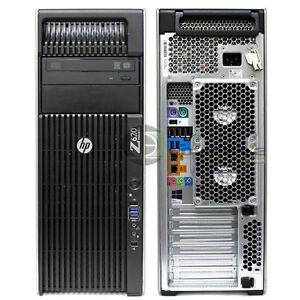 Details about HP Z620 Desktop/ Workstation Intel E5-1620 3 6 GHz/ 48GB  RAM/500GB SSD HDD/Win10