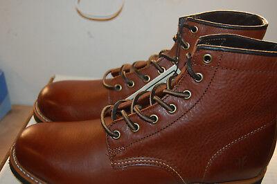 Arkansas Mid Lace $400 Boots Mens 8.5