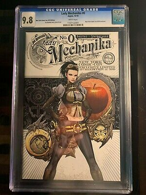 Aspen Comics Lady Mechanika #0 CGC Graded 9.8