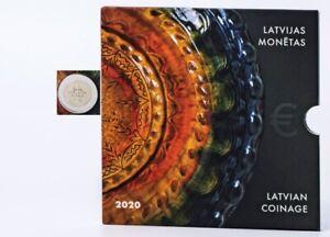 KMS-Lettland-2020-in-Originalblister-5-88-nominal-Lettgallische-Keramik