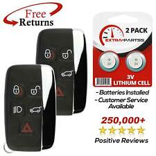 2 For 2015 2016 2017 2018 Range Rover Evoque Keyless Entry Smart Remote Key Fob