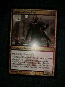 Excellent+ Master of Cruelties ~ Dragon/'s Maze Magic MTG