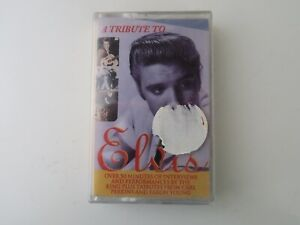 A-Tribute-to-Elvis-CASSETTE-TAPE-VARIOUS-NEW-amp-SEALED