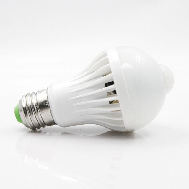 Motion Sensor Light Bulb Socket Pir Led