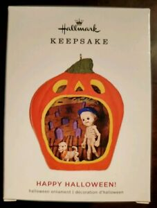 2019-Hallmark-Keepsake-Ornament-Happy-Halloween-7th-in-Series-NIB