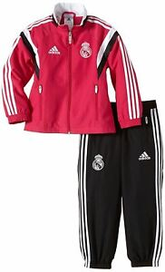 Adidas Real Madrid PRESENTATION Survêtement Set nourrissons rose/noir Football Soccer
