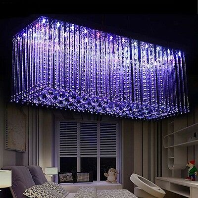 Led Crystal Dining Room Color Changing
