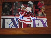 STEPHEN WEISS AUTOGRAPHED DETROIT RED WINGS 4X6 PHOTO # 2