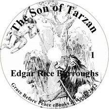 Son of Tarzan, an Adventure Audiobook by Edgar Rice Burroughs on 1 MP3 CD