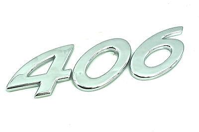 2 x Genuine New PEUGEOT GLX WING BADGE Emblem For 206 1998-2010 406 1999-2004