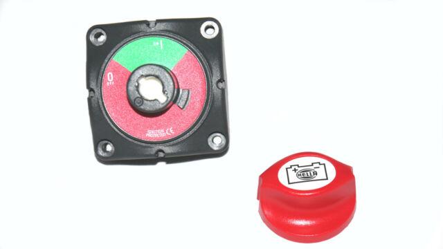 Hella Marine Batterietrennschalter EIN//AUS 275A Konstant 1250A max Hauptschalter