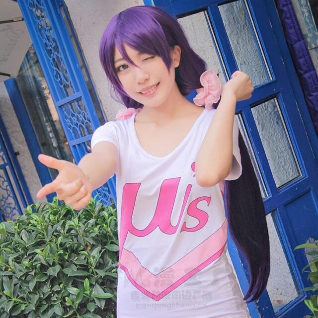 LOVE LIVE!  Cosplay  Kousaka Honoka  Minami Kotori  Casual T shirt Tops 3 Styles
