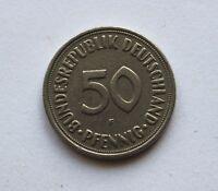 50 Pfennig 1950 F -  Bundesrepublik Deutschland