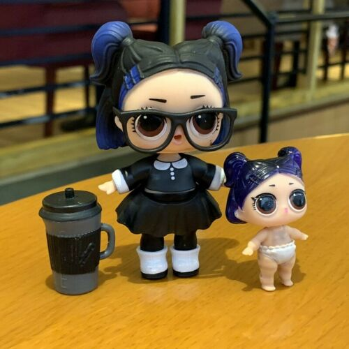 LOL Surprise Doll Series 3 Confetti Pop Dusk /& lil dusk sd