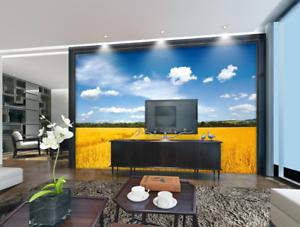 3D Himmel Reisfeld 55 Tapete Tapeten Mauer Foto Familie Tapete Wandgemälde DE