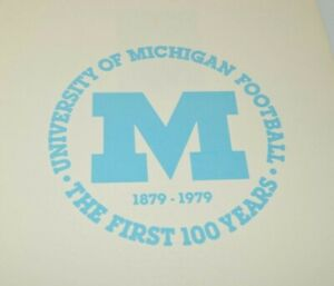 University-of-Michigan-Football-Book-The-First-100-Years-Wolverines-NCAA-Program