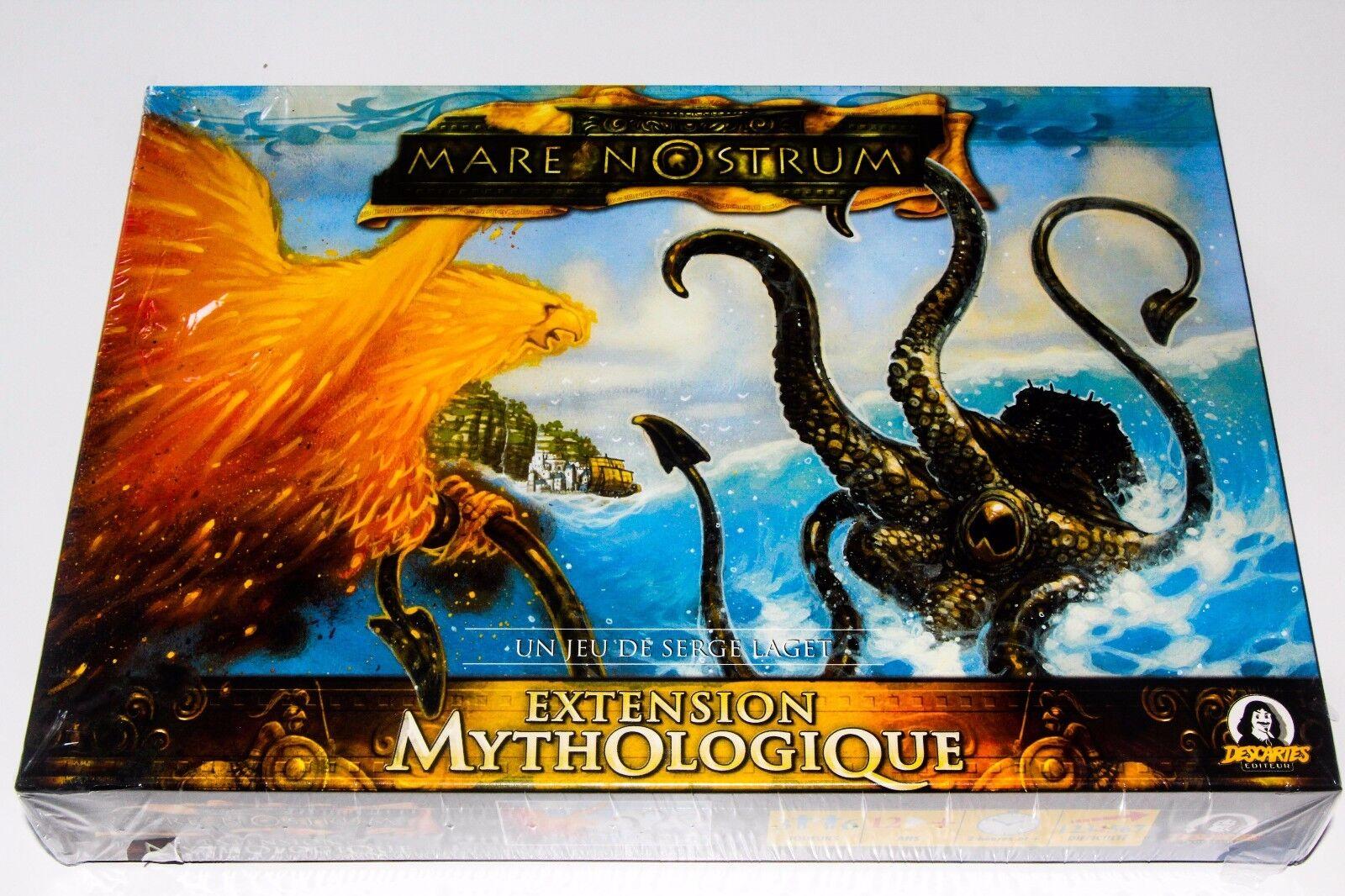 MARE NOSTRUM - EXTENSION MYTHOLOGIQUE - RARE - - -  DESCARTES - NEUF   NEW - BLISTER 1f1b39