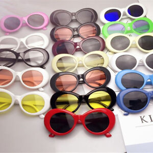 116f0a3fc32 Image is loading Retro-Clout-Goggles-Unisex-Sunglasses-Rapper-Oval-Shades-
