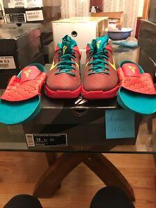 the latest 14fe7 12b44 Nike Zoom KOBE VII 7 SUPREME X YOTD YEAR OF THE DRAGON RED ...