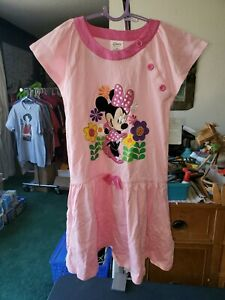 NWT DISNEY Store Minnie Mouse fancy Dress Girls 5//6,7//8 Pink