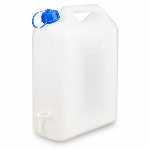 10L-Plastica-Acqua-Container-Tanica-Trasportatore-Tamburo-Beccuccio-Rubinetto