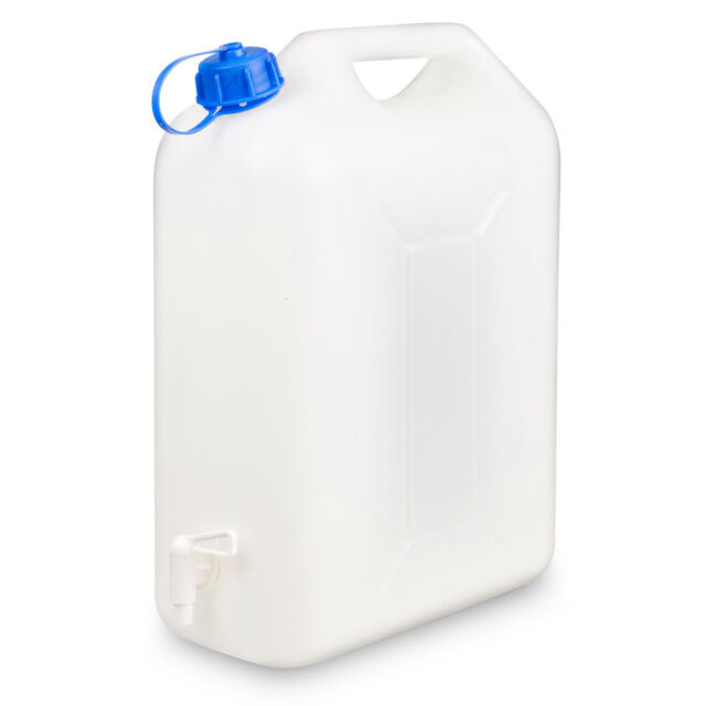 10L Plastic Jerry Can with Pouring Tap Water Container Carrier Bottle for  sale online | eBay